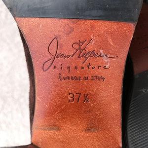 Joan & David Shoes - RARE: Vintage Joan Helpern suede stacked heels